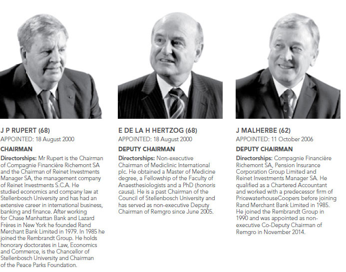 Board and management team - Remgro Limited